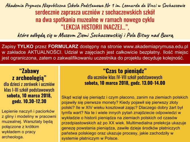 Akademia Prymusa W Sochaczewie